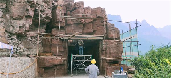 河南假山工程