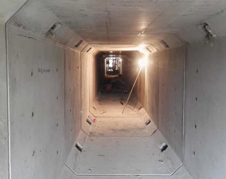 在中铁三局工程项目中合作陕西箱涵水泥预制品