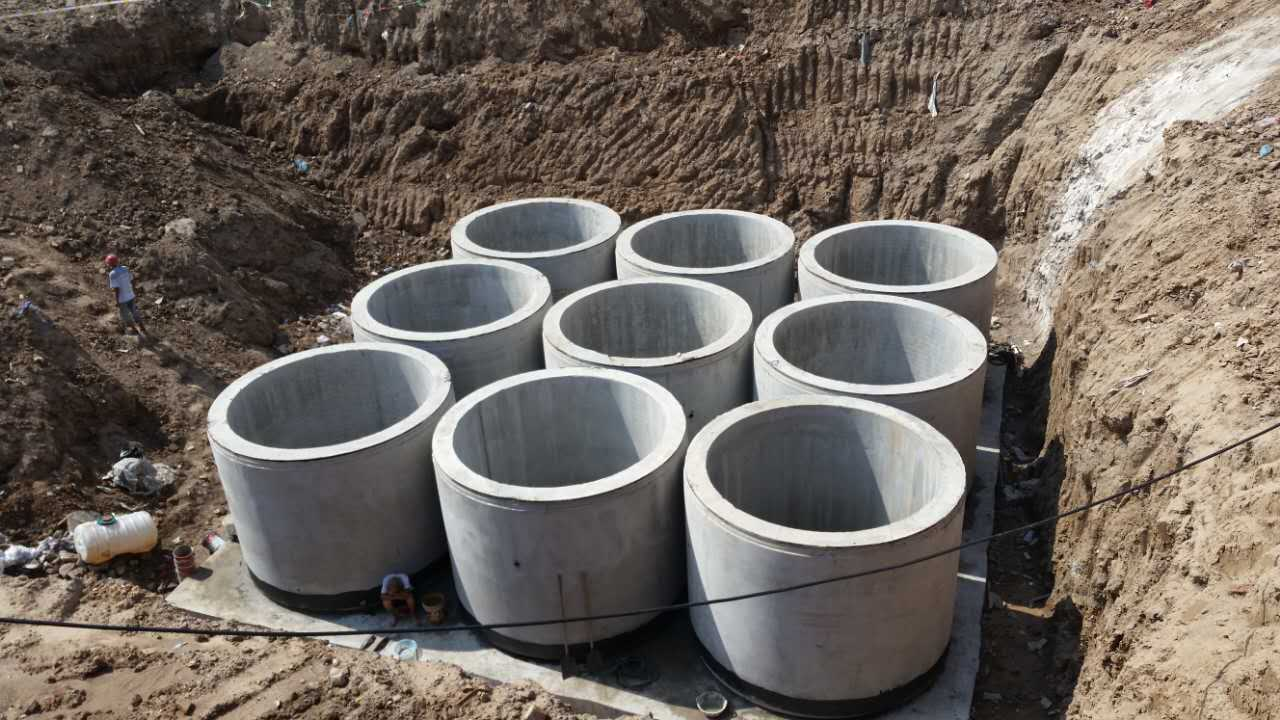 圆形化粪池生产