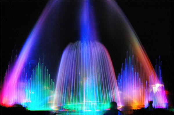 音乐喷泉施工