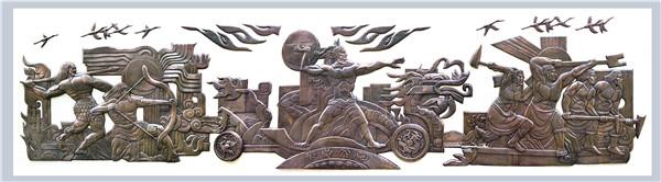 陕西铸铜雕塑