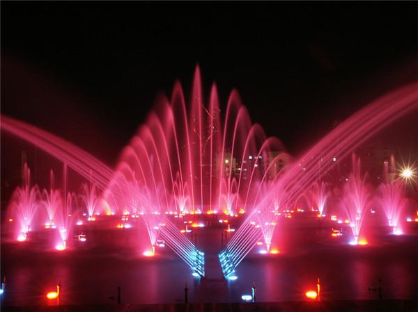 张果老广场喷泉工程