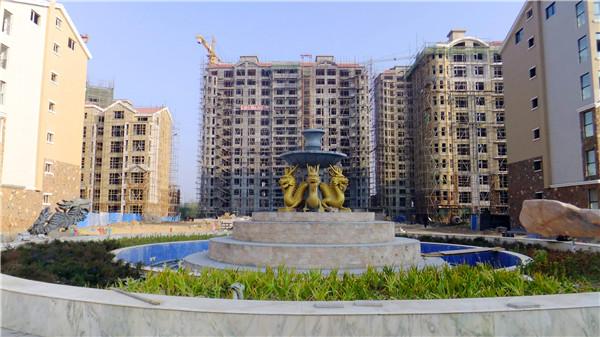 唐都广场音乐喷泉