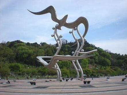 陕西不锈钢雕塑安装