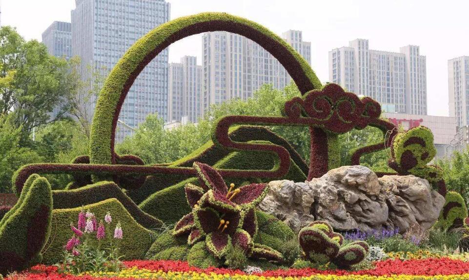 陕西城市绿雕
