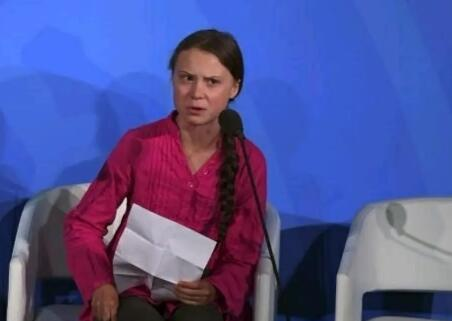日官员批环保少女:年轻人一味指责大人不会有未来