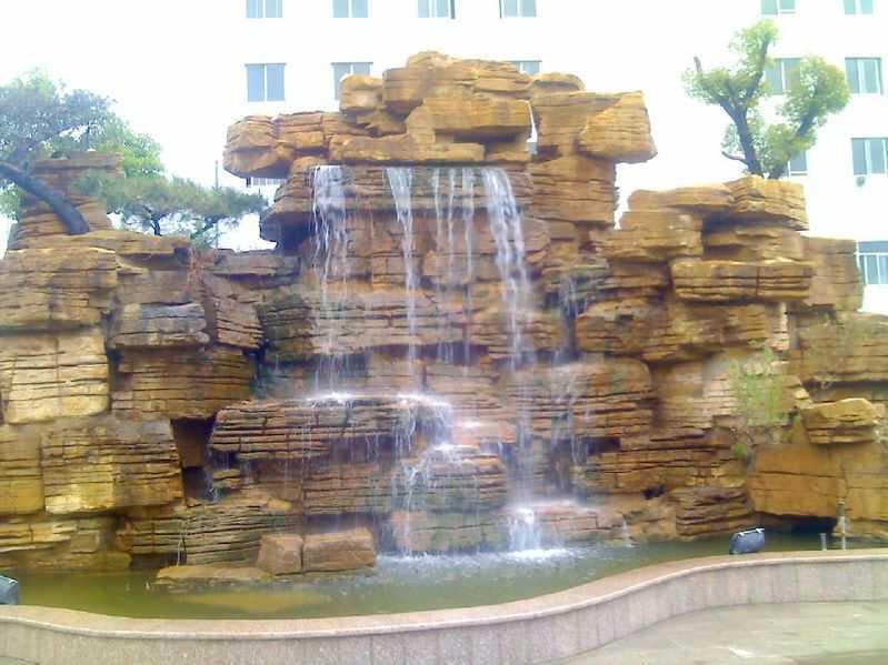 喷泉假山的优势