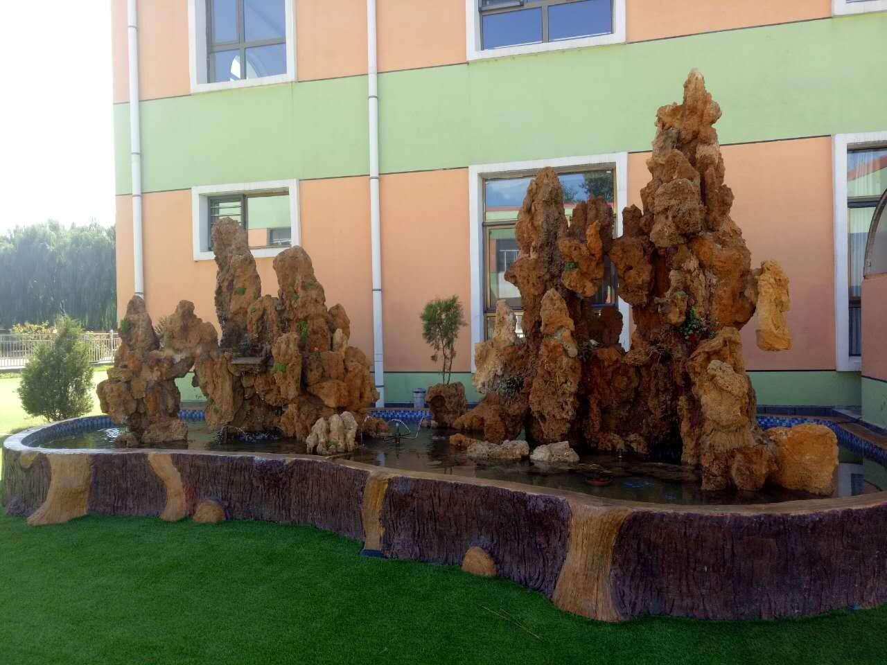石缘景观与锡林浩特学校合作案例
