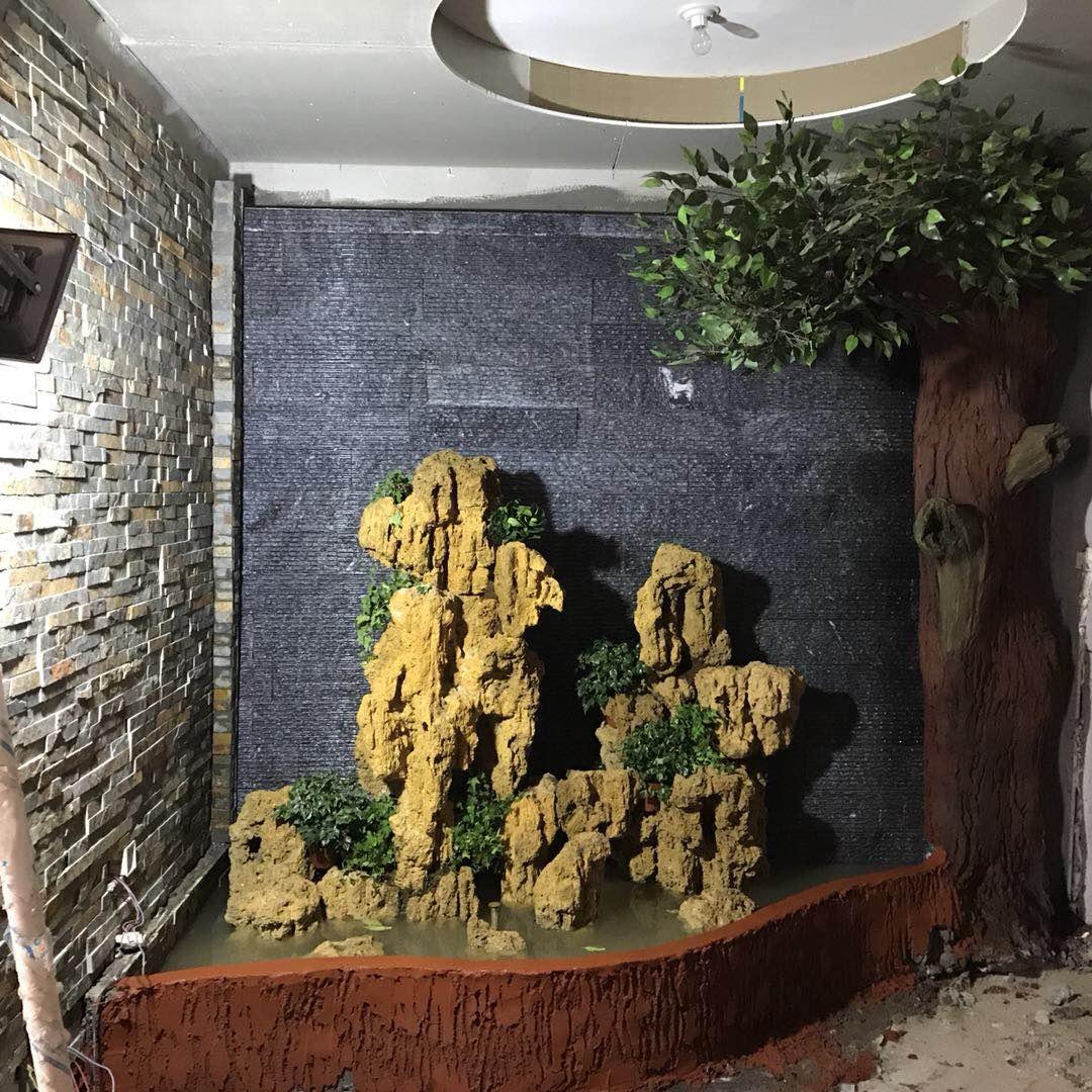 石缘景观合作水幕喷泉景观案例