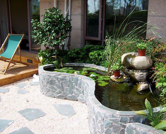 庭院水景景致