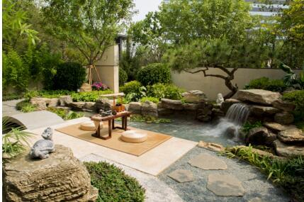 水景庭院,带你走进别样的设计风格