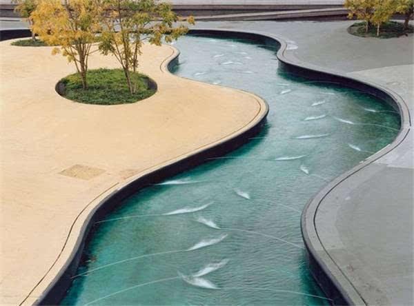 如何营造景观中的水景设计?