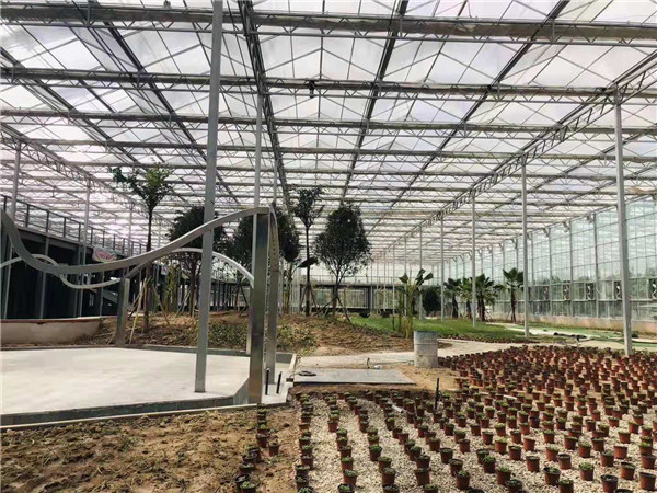 陕西玻璃温室设计