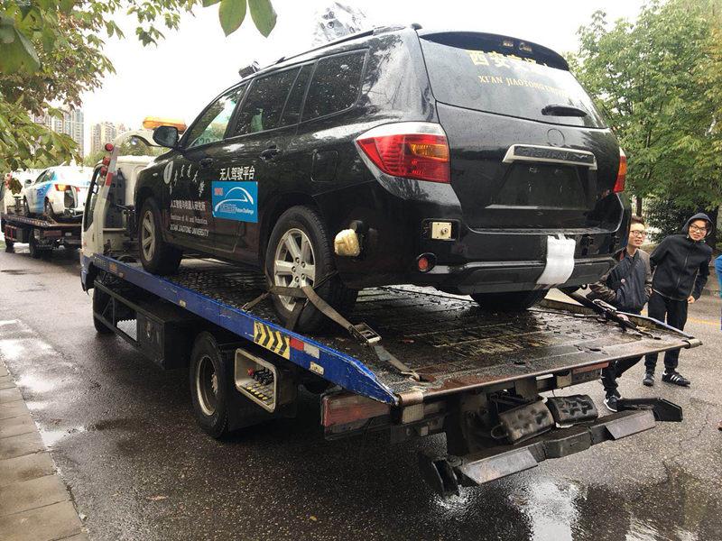 发生故障后拖车救援案例