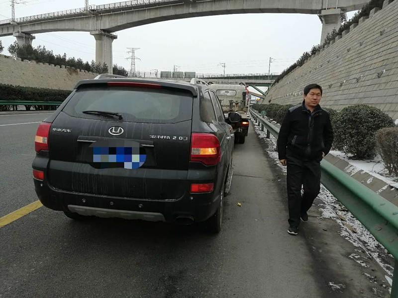 西安高速路道路救援案例展示