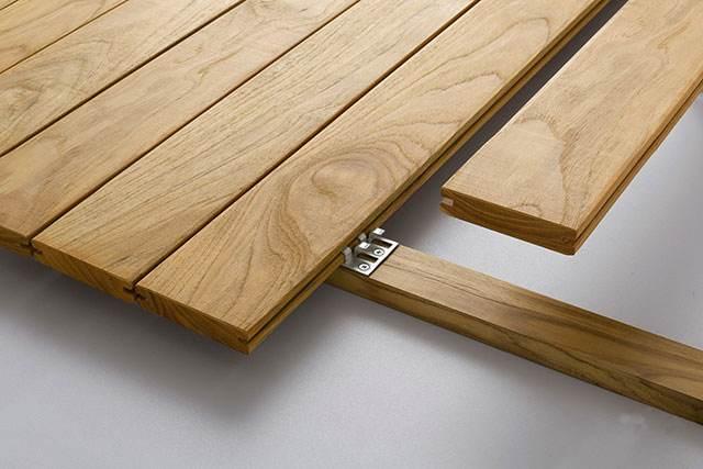 原木地板安装