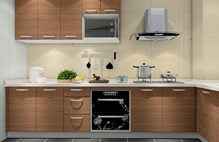 L型厨房设计图