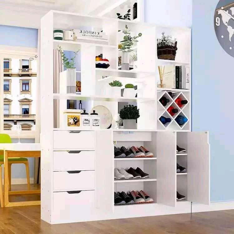用柜子当隔断的设计风格