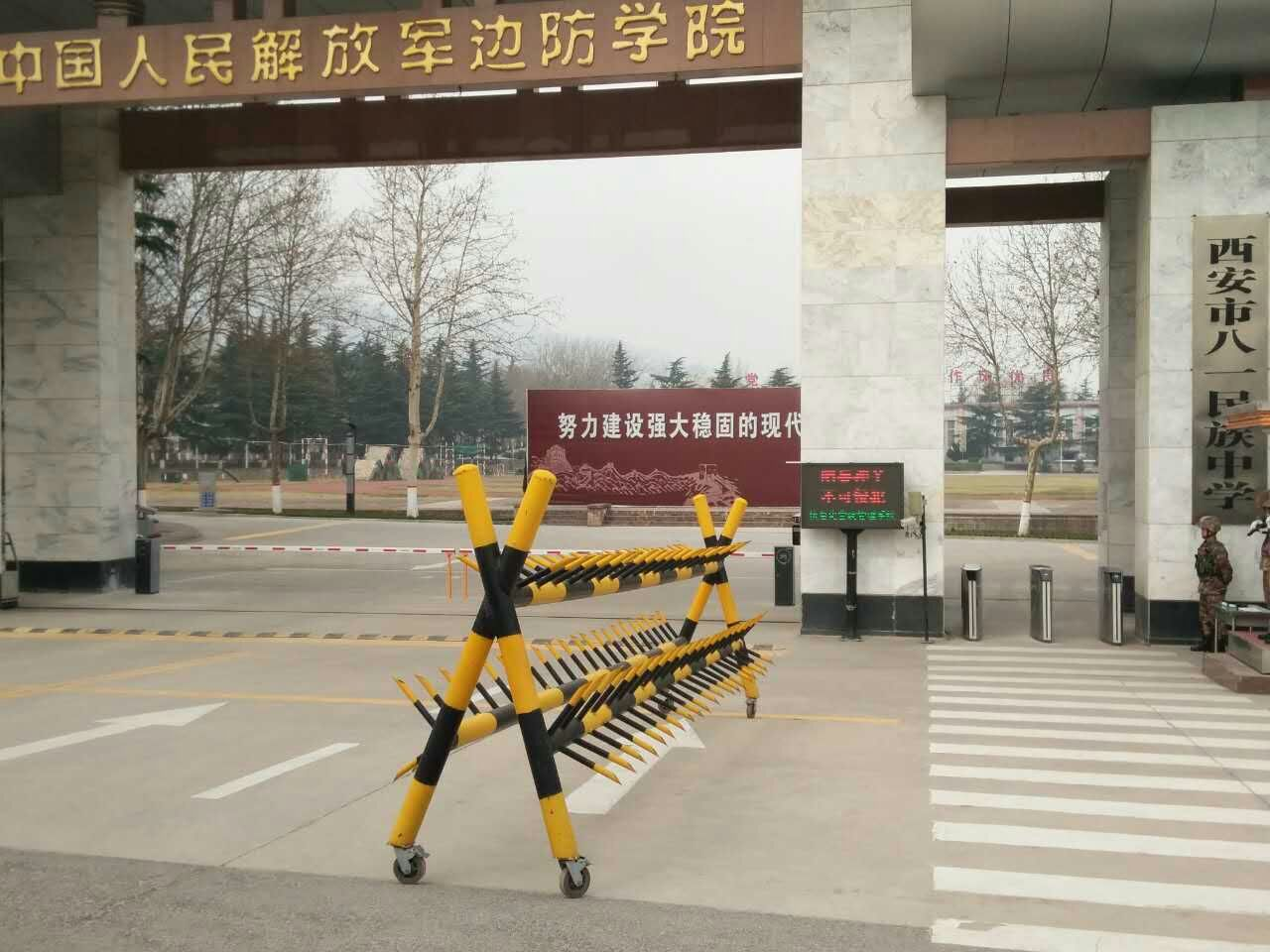 中国人民解放军边防学院停车场管理系统合作案例