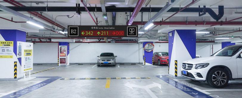 车位引导系统解决方案