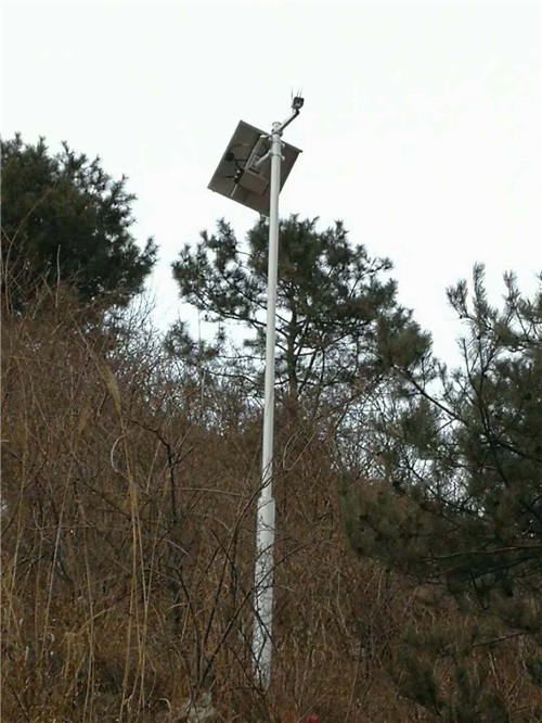 无线太阳能监控-灵宝市森林防火项目