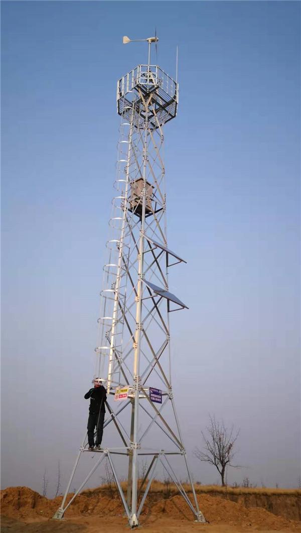 熠之源 风光互补太阳能监控 供电系统 (三门峡黄河河床监控(一期、二期))
