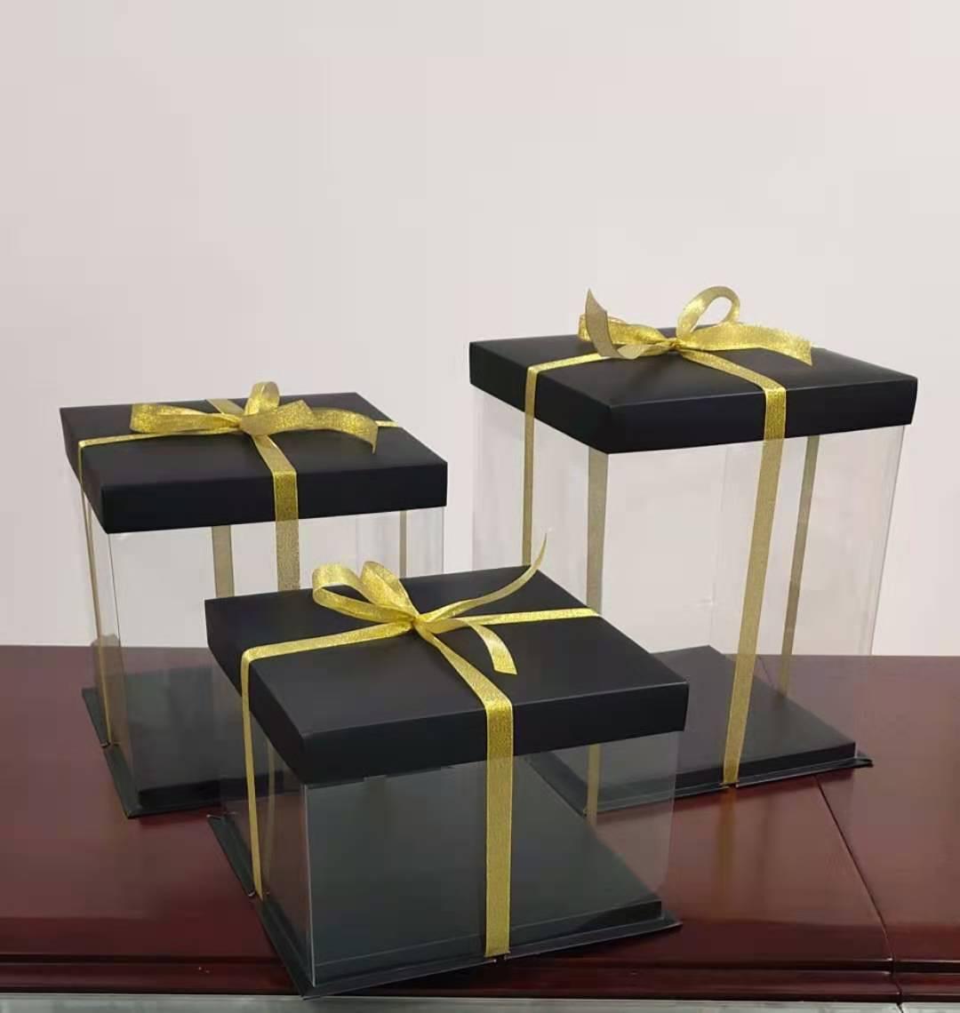 网红蛋糕透明盒