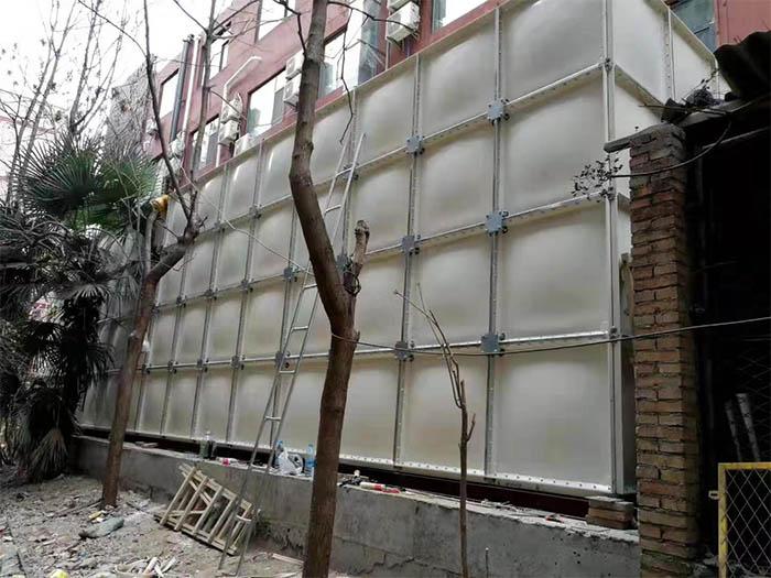 陕西镀锌钢板水箱安装