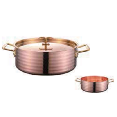 铜三层精钻商用锅