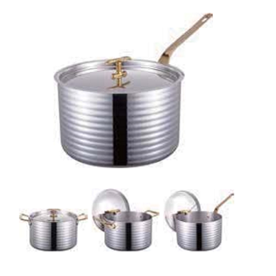 三层钢精钻高身汁锅