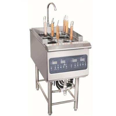 商用电磁六眼煮面炉6孔电磁煮面灶 电脑版D型系列