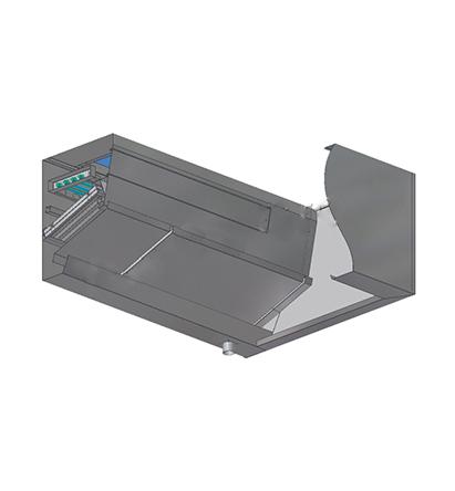 紫外线UV-C自动水洗式烟罩(方型)
