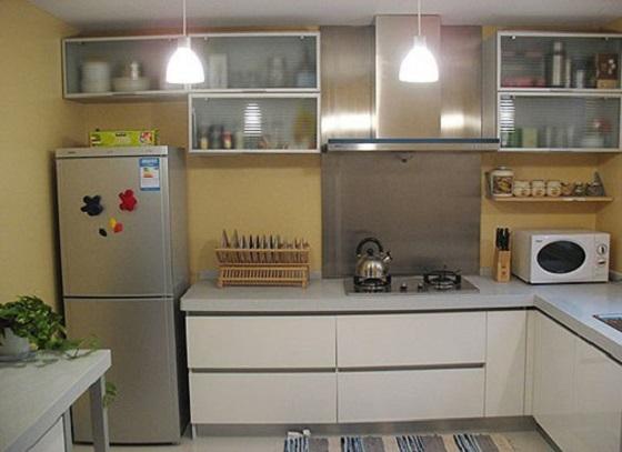 厨房设备合理摆放,能有效提高效率