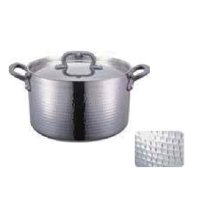 三层钢锤印商用锅