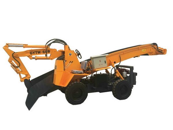 成都挖掘式裝載機-輪式刮板扒渣機