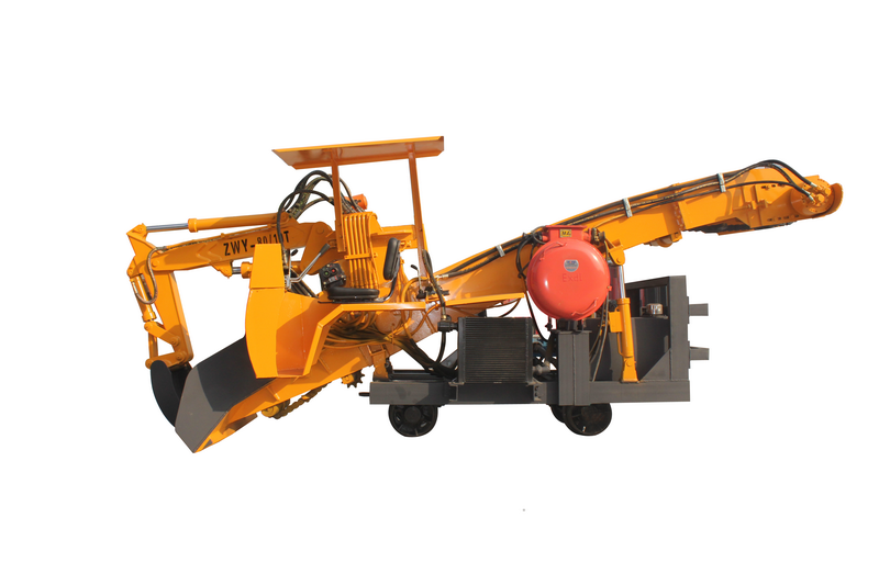 成都挖掘式装载机-轨轮式刮板扒渣机