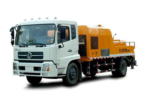 車載混凝土輸送泵