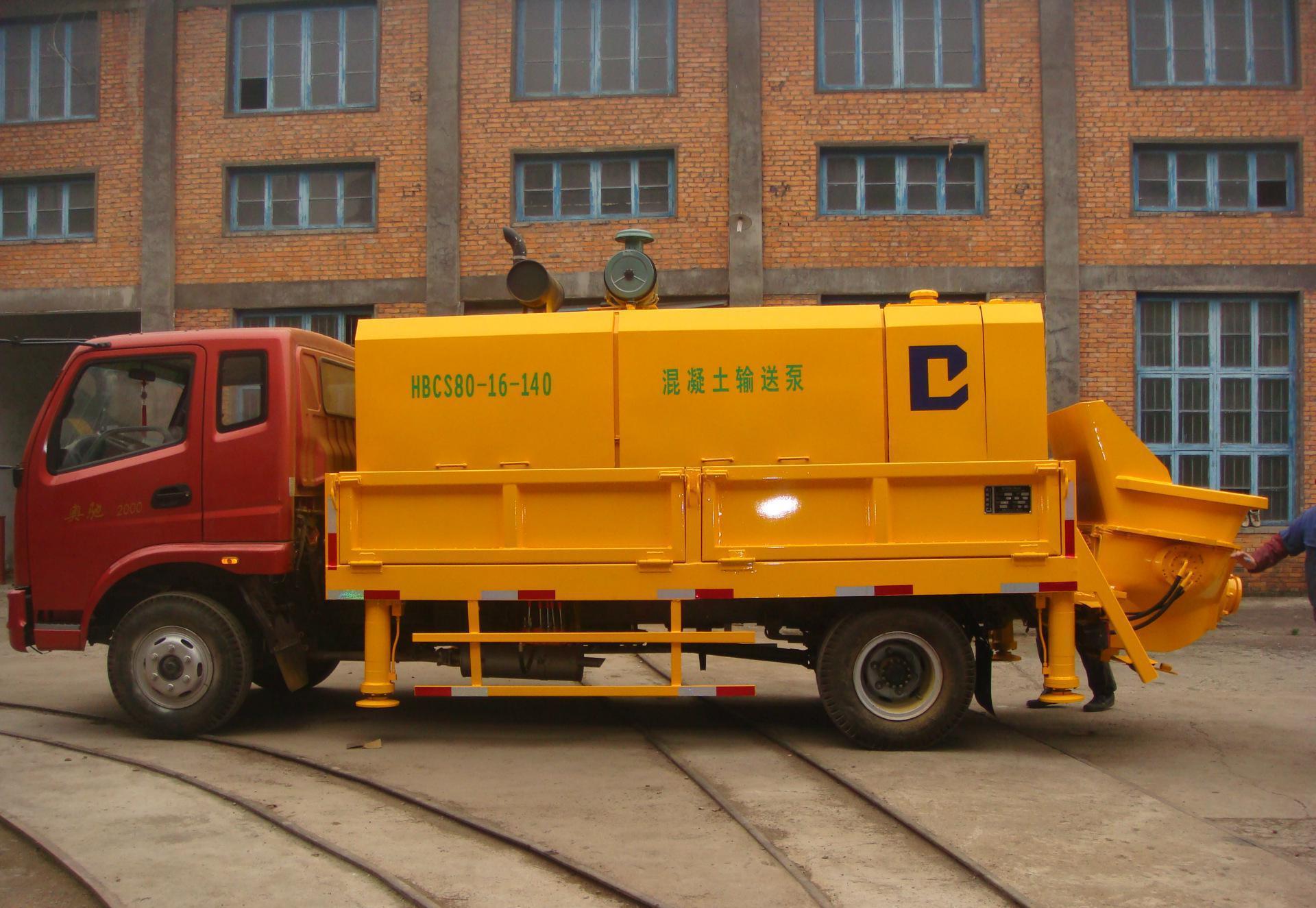 造成成都混凝土輸送泵泵管堵塞的原因有哪些?