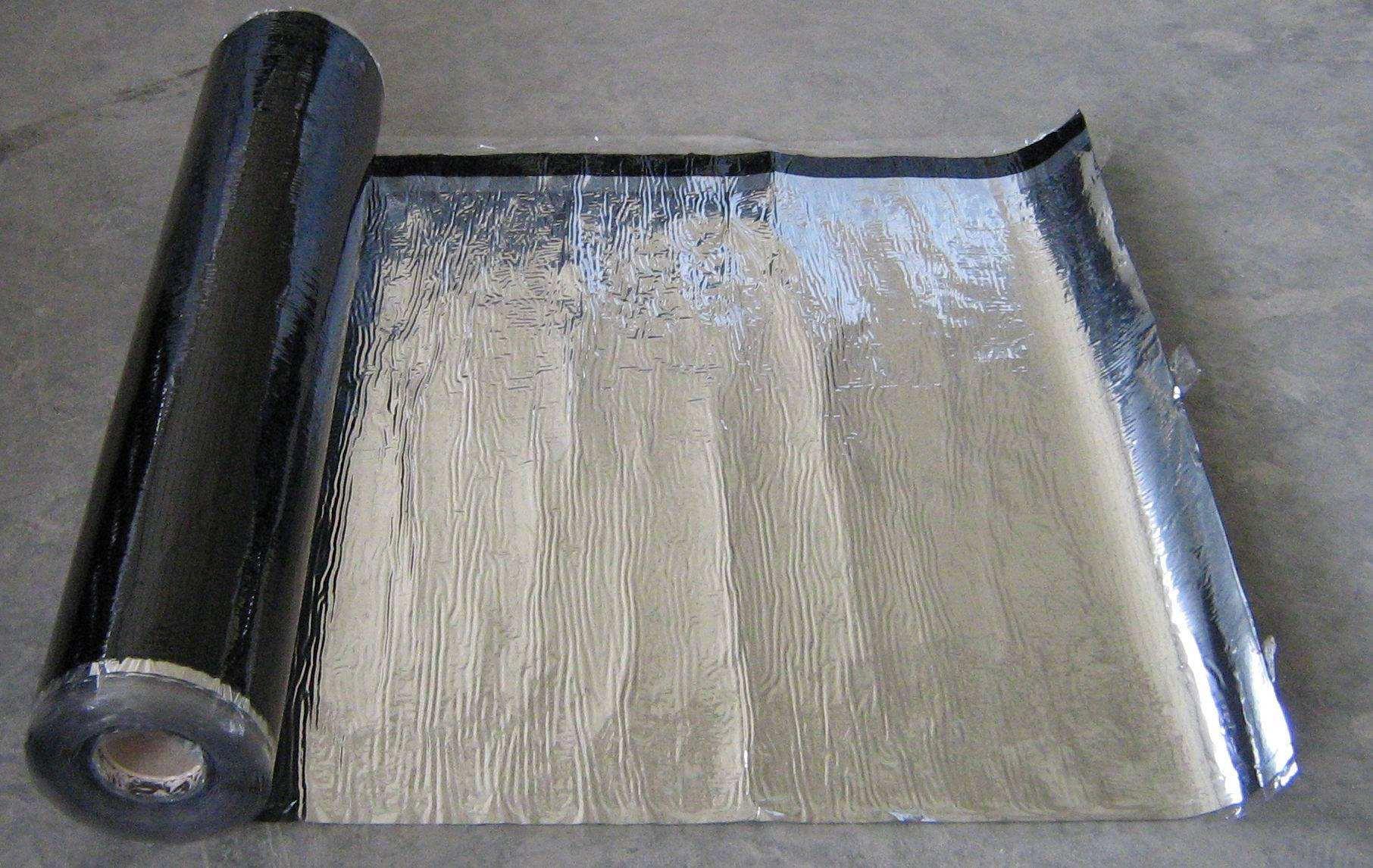 自粘防水卷材施工