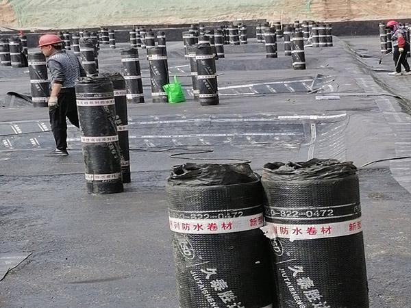 防水卷材施工工程