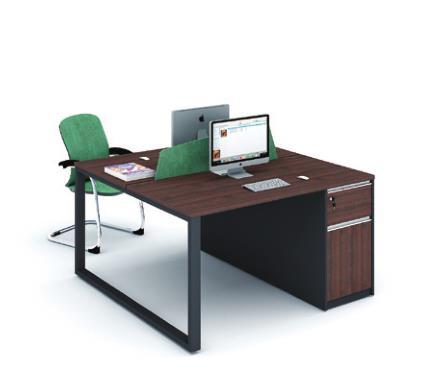二人辦公桌