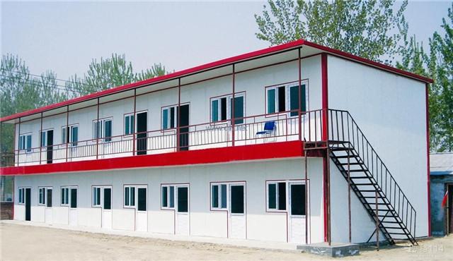 西安净化彩钢板活动房案例