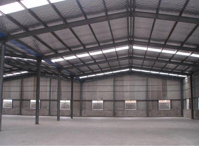 西安聚氨酯板钢结构厂房案例