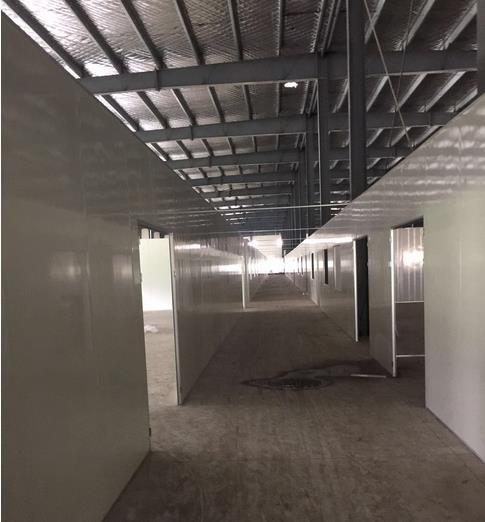 西安硅岩净化板材在室内的应用