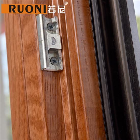 85系列铝包木门窗细节二