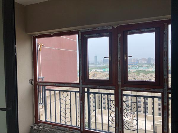 恒大江湾高层_70西安断桥铝门窗