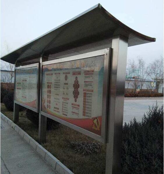 四川不锈钢广告牌为什么表面会生锈