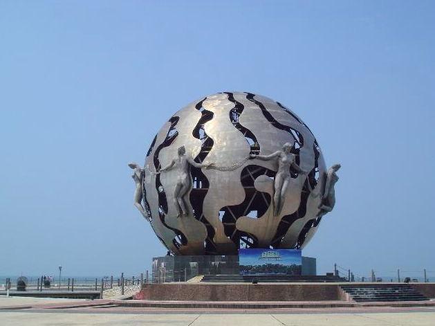四川不锈钢雕塑案例