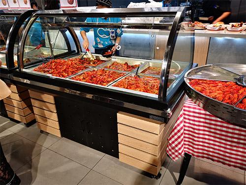 四川熟食展示柜