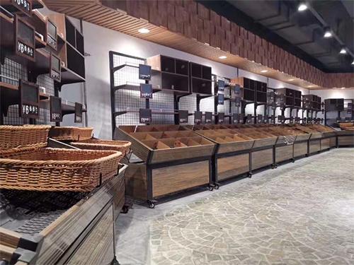 四川蔬菜货架厂家-ABS靠墙蔬菜架